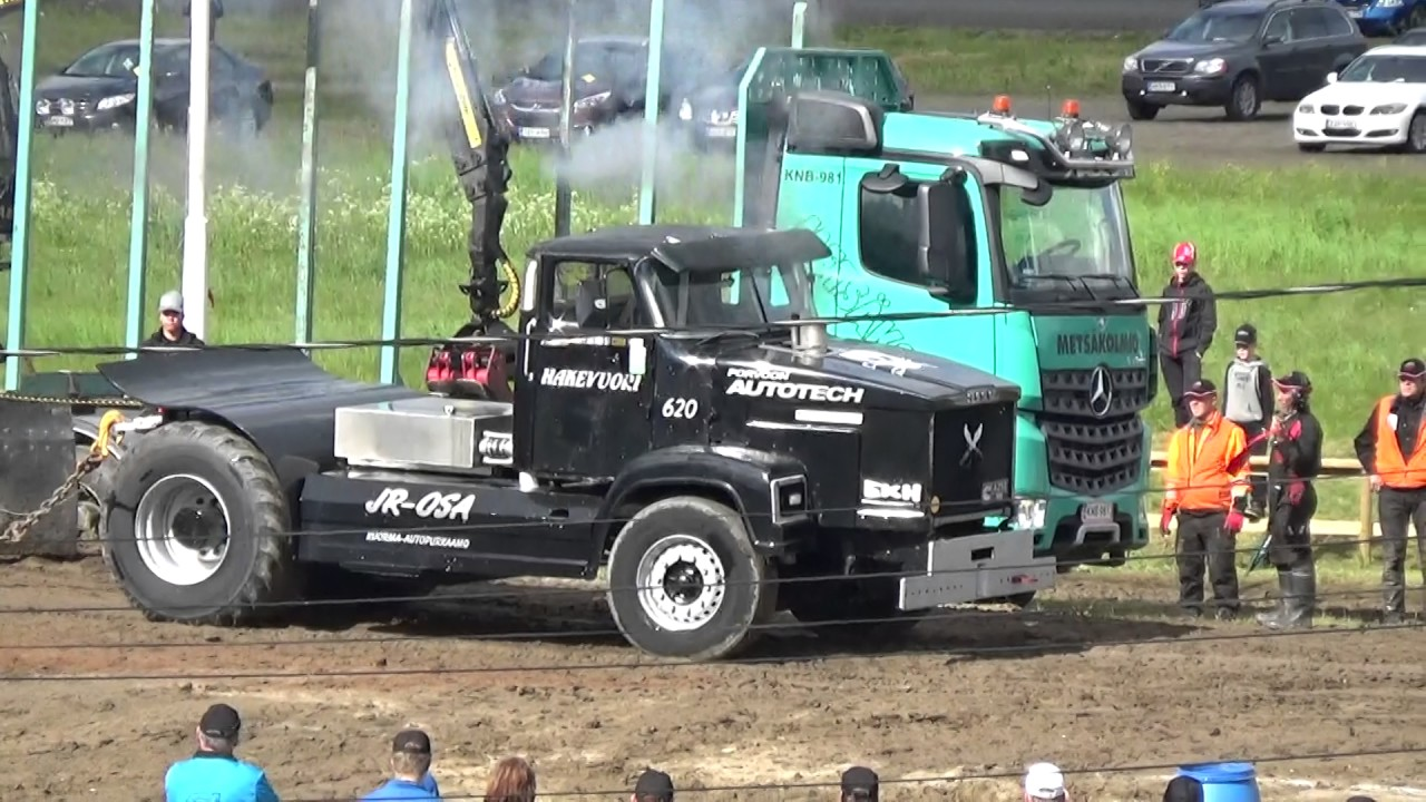 Pulling Traktor