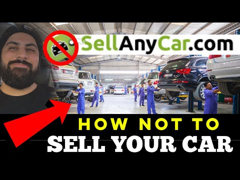How NOT to Sell Your Car! SellAnyCar.com (Honest Review)