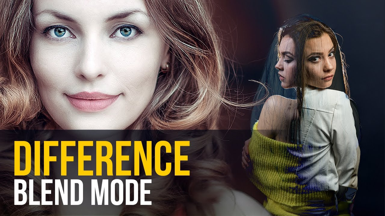 Difference Blending Mode in Photoshop | Explained with Uses and Examples
