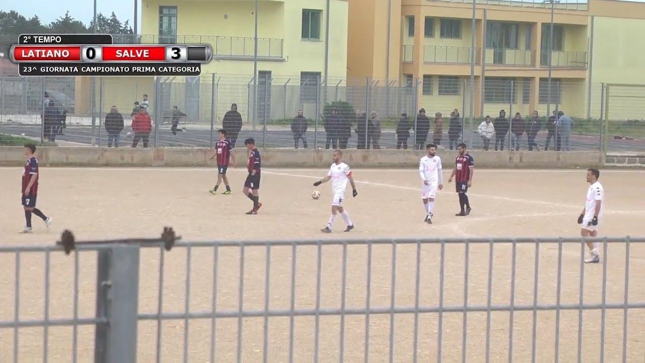 Highlights di Latiano - FC Salve 0-3