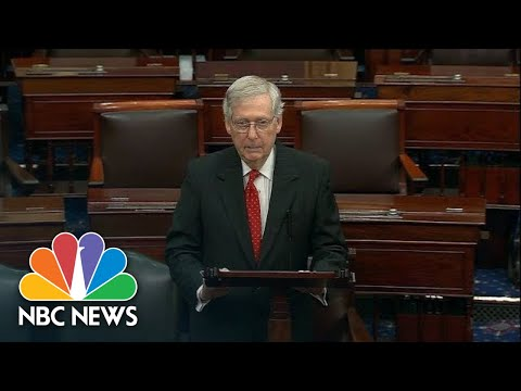 Senator Mitch McConnell Claims House Democrats Have An 'Impeachment Addiction' | NBC News