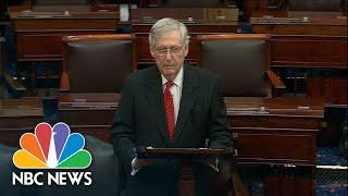 Senator Mitch McConnell Claims House Democrats Have An 'Impeachment Addiction'   NBC News