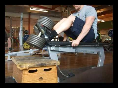 Tibialis Anterior training with dumbbell - YouTube