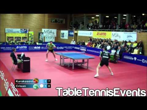 Adrian Crisan Vs Aleksandar Karakasevic: Match 1 [German League /]