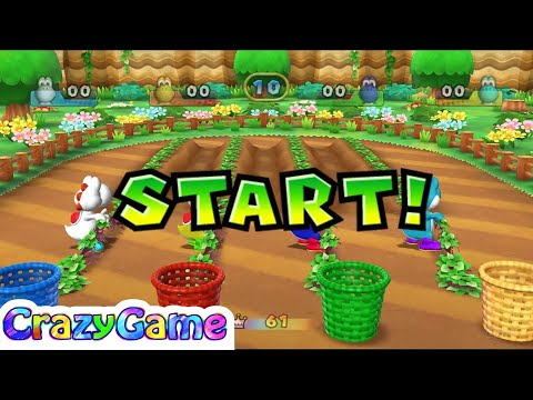 Mario Party 9 Step It Up #132 (Free for All Minigames)