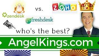 Zendesk vs. Freshdesk vs. Zoho: Who
