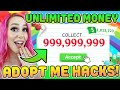 Trying Unlimited Money Hacks In Roblox Adopt Me! (Viral TikToks)