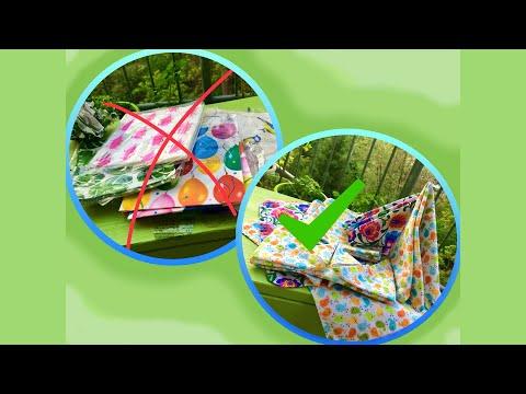 Sewing Sustainable Napkins | Zero Waste | DIY | Upcycling