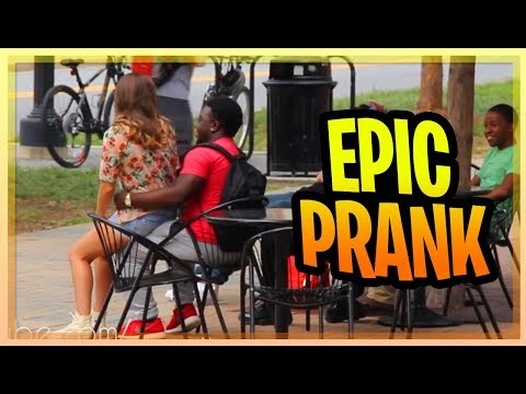 Funny Prank - Sitting On People *GONE WRONG*