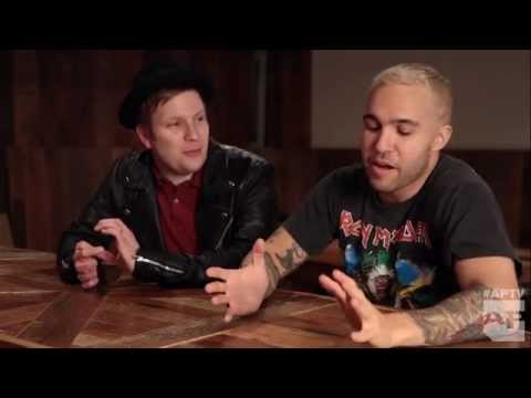 Fall Out Boy's Pete Wentz & Patrick Stump talk AP memories