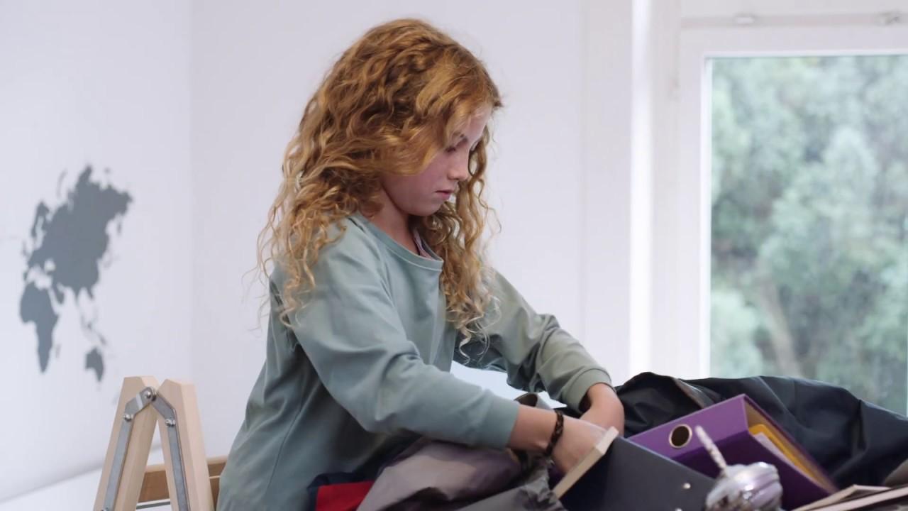 Stress wächst dem organisiertesten Kind über den Kopf
