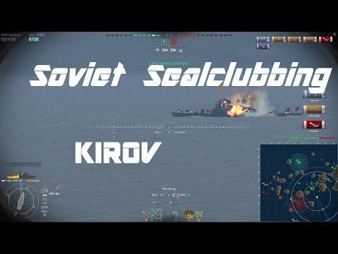 Soviet T5 Cruiser Kirov - A Verified Sealclubber