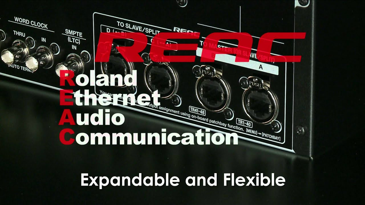 Roland Pro A/V - R-1000 | 48-Track Recorder/Player