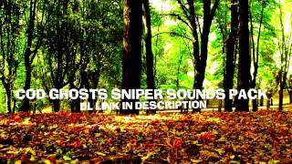 COD Ghosts: Sniper sounds pack download