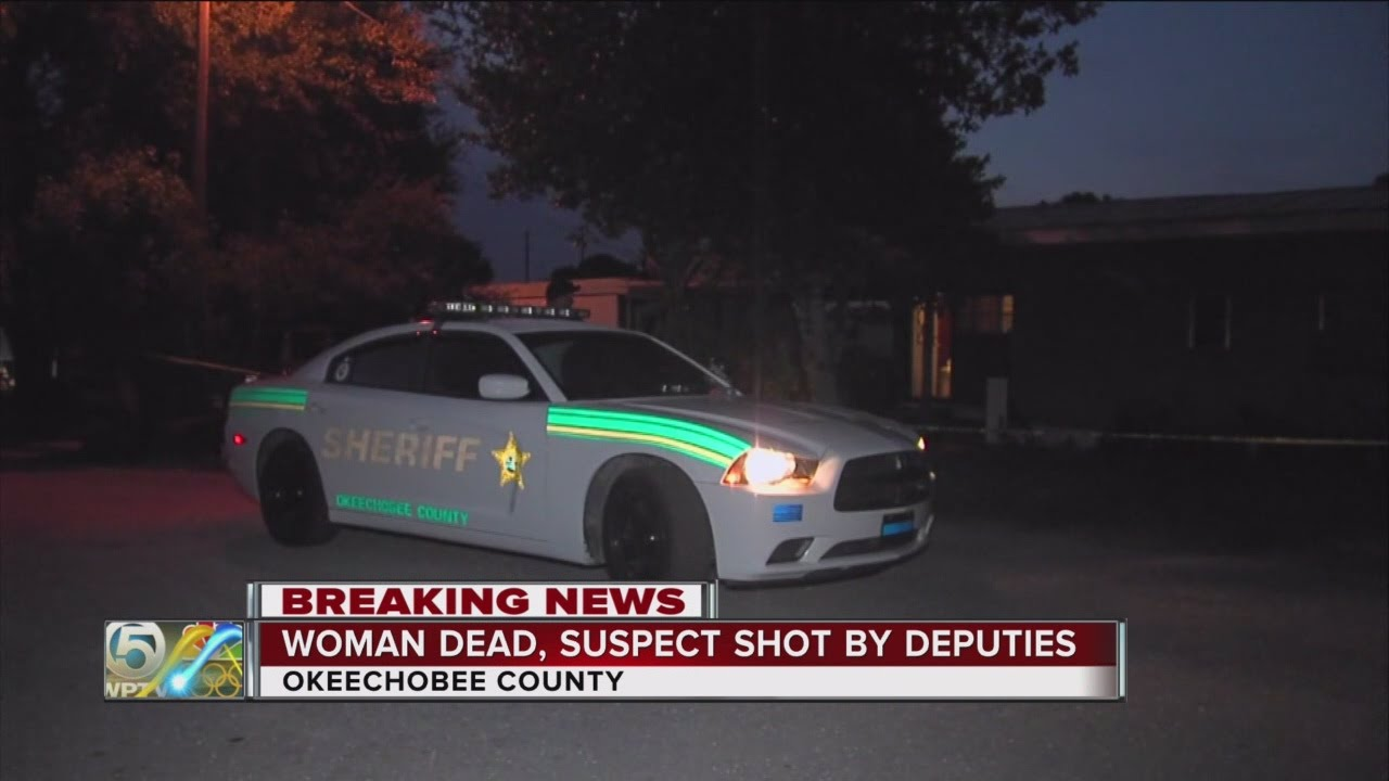 Woman shot and killed, possible suspect shot by deputies in Okeechobee  County