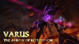 League of Legends - Varus Bot - Full Game - EU West
