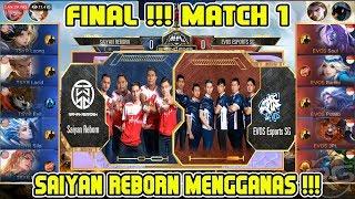 TSYR Mengganas FINAL !!! Saiyan Reborn vs Evos SG Grand Final Match 1 MPL MY/SG Season 2