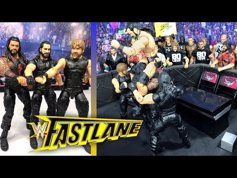 WWE FASTLANE 2019 FULL SHOW REVIEW & RESULTS! WWE FIGURES!