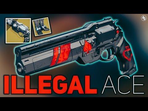 Ace of Spades Build (Illegal Ace) Hunter Build   Destiny 2 Forsaken