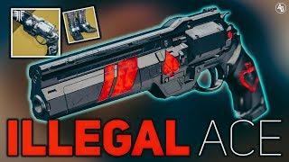 Ace of Spades Build (Illegal Ace) Hunter Build | Destiny 2 Forsaken
