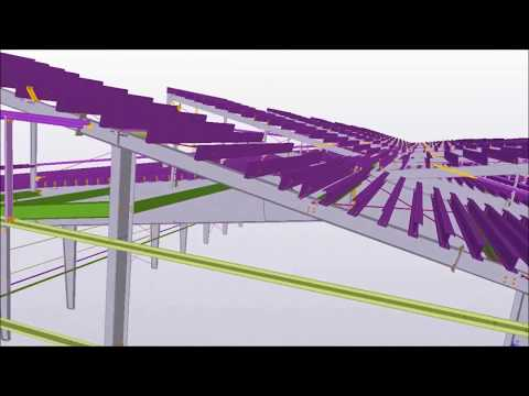 2016 North American BIM Awards - Syracuse University Practice Facility