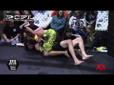"""Prison"" City Fight League ANTONIO BURKEY VS KYLE MESSERSMITH #170"