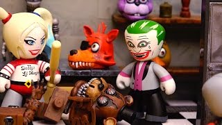 Harley Quinn Leaves Joker for DeadShot During Suicide Squad Mission at Five Nights at Freddy's Toys