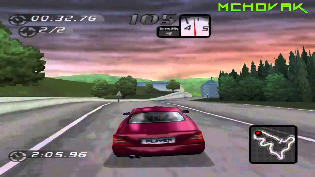 Need For Speed High Stakes Playstation 1 Gameplay