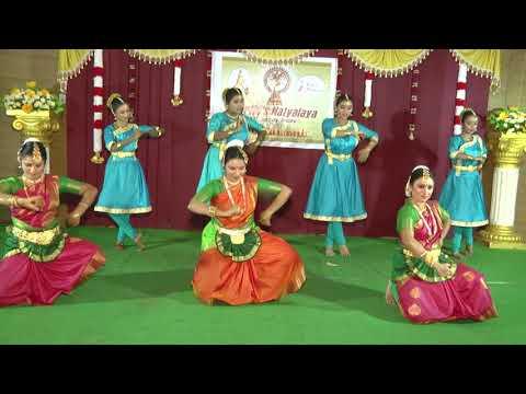Natyalaya Annual Day 2018 | Senthamizhnadu | Semi-Classical Dance