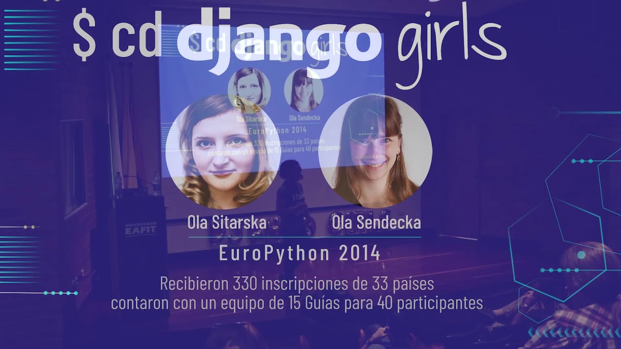 Image from Johana Sánchez - Django Girls Colombia: Technological inclusion and results achieved in 2017