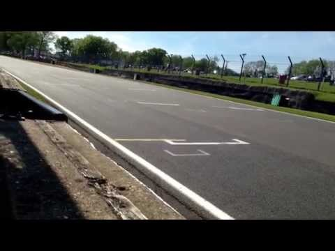 Historic F1. Brands Hatch pit wall. 2013. Cosworth DFV sounds.
