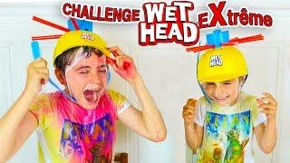EXTRÊME WET HEAD CHALLENGE ! - Douche de Sauce Tomate, Lait, Colorants ...