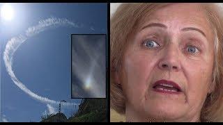 Eyewitness SHOCKED at 'Hologram Sky' in Jerusalem (R$E)