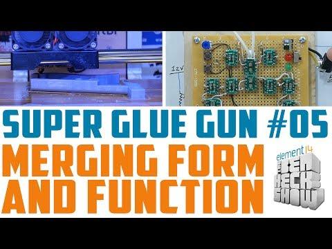 Super Glue Gun 05: Hall Effect Sensor Hysteria!