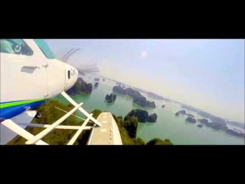 Halong bay Sightseeing Flight with Seaplane in Vietnam