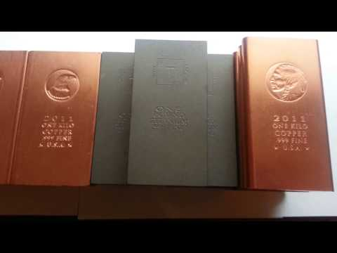 WOW!  Copper & Titanium Bullion Bars are a Great Investment