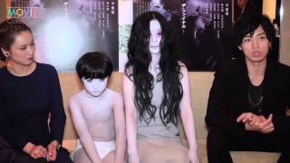 【動画】伽椰子&俊雄インタビュー https://youtu.be/IYnzi-A9N0o 『呪...