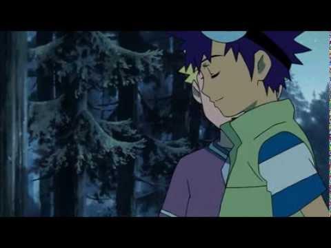 Digimon Adventure 02 Movie: Daisuke and Wallace (Original and English Dub Comparison)
