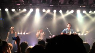 The Lumineers Ho Hey at Umeda Club Quattro (2014.02.07)