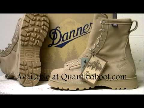 Danner Desert Arcadia Military boot - YouTube