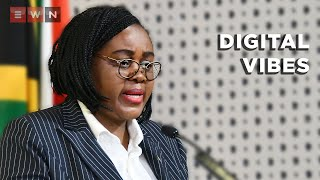 Acting Health Minister Mmamoloko Kubayi-Ngubane answered questions in Parliament health committee on matters regarding the irregular contract, Digital Vibes.  #DigitalVibes #ZweliMkhize