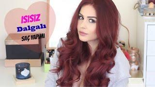 ISISIZ DALGALI SAÇ YAPIMI || Victoria Secret Melekleri