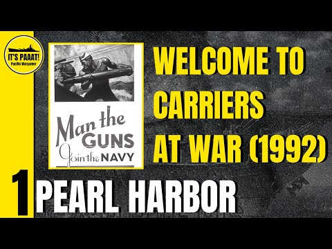 Tutorial - Let's Play Carriers at War (1992)