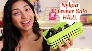 NYKAA Summer Sale Makeup HAUL | Lipstick & Blusher Hoarder