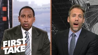 Stephen A. and Max debate who