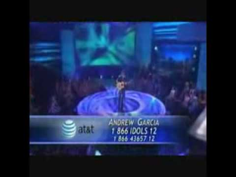 Andrew Garcia's Auditions 1 on American Idol