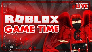 🔴 ROBLOX GAME TIME | ROAD TO 5K SUBSCRIBERS! | ROBLOX LIVE 🔴