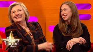 Chelsea Clinton Tried To Order Pizza To The White House!   The Graham Norton Show
