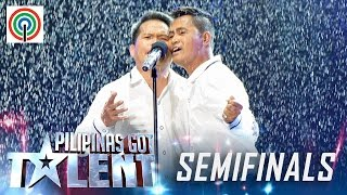 Pilipinas Got Talent Season 5 Live Semifinals: The Poor Voice - Singing Duo