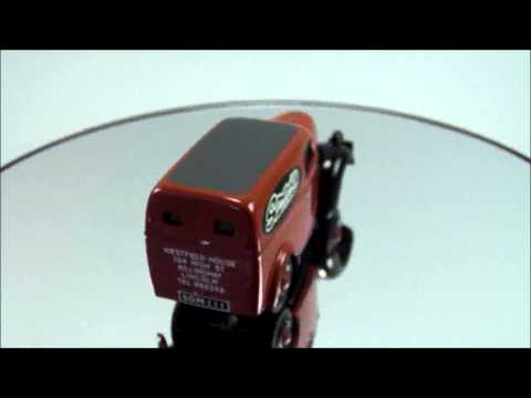 Somerville Models White Metal Model Fordson 5CWT Van Red Somerville Models 2